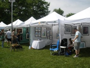 Riverdale Art Walk,  Photo by Moshe Mikanovsky