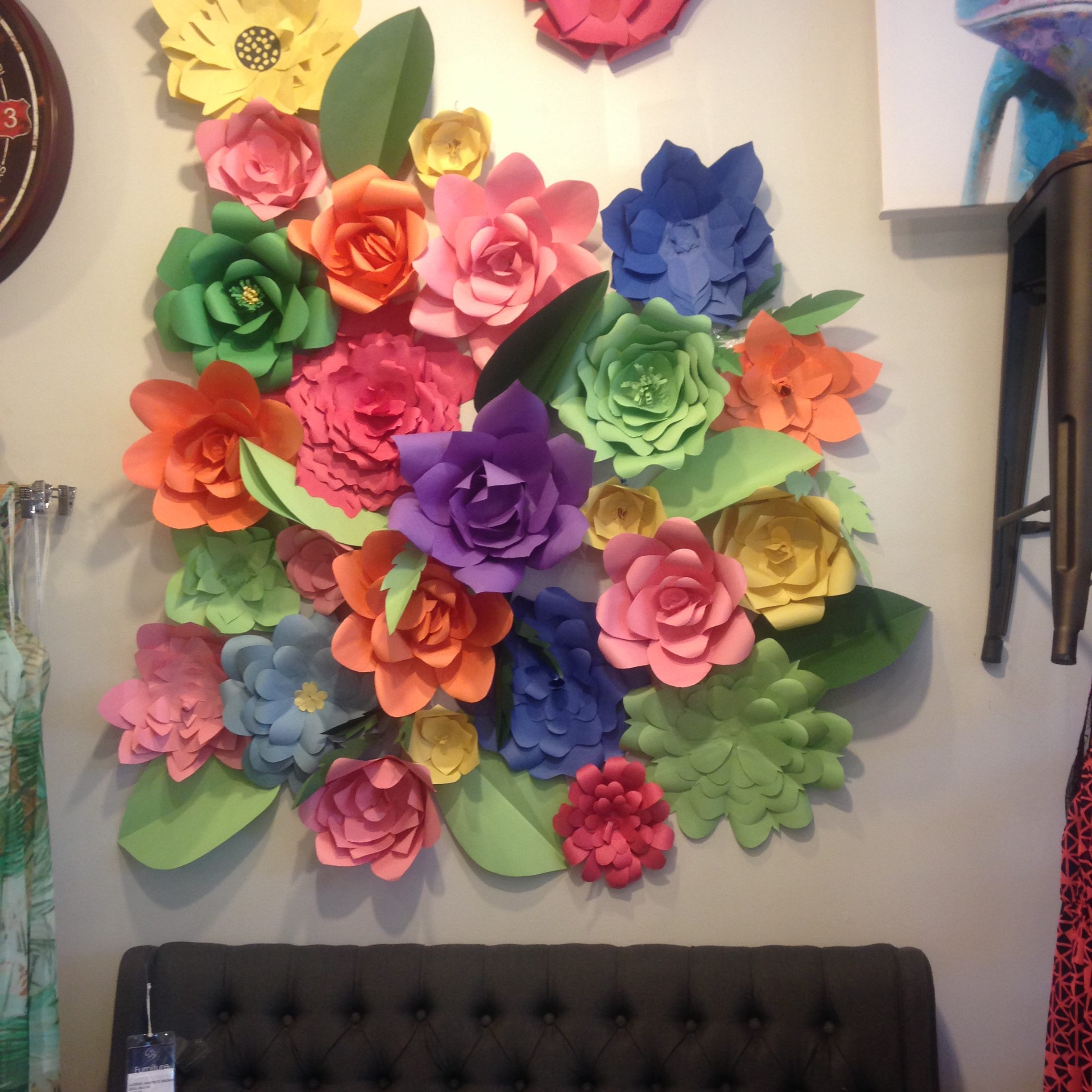 PULP PETALS BY NEDA SAEEDI coming to PULP: paper art party 2017