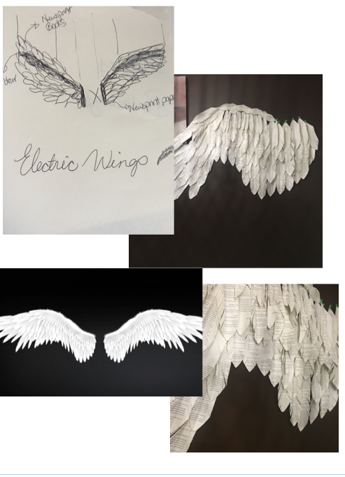 Electric Wings by Neda Saeedi (Lush Lemon Design) coming to PULP: paper art party 2018
