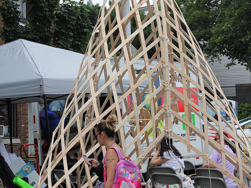 PULP Weave at BIG on Bloor 2017