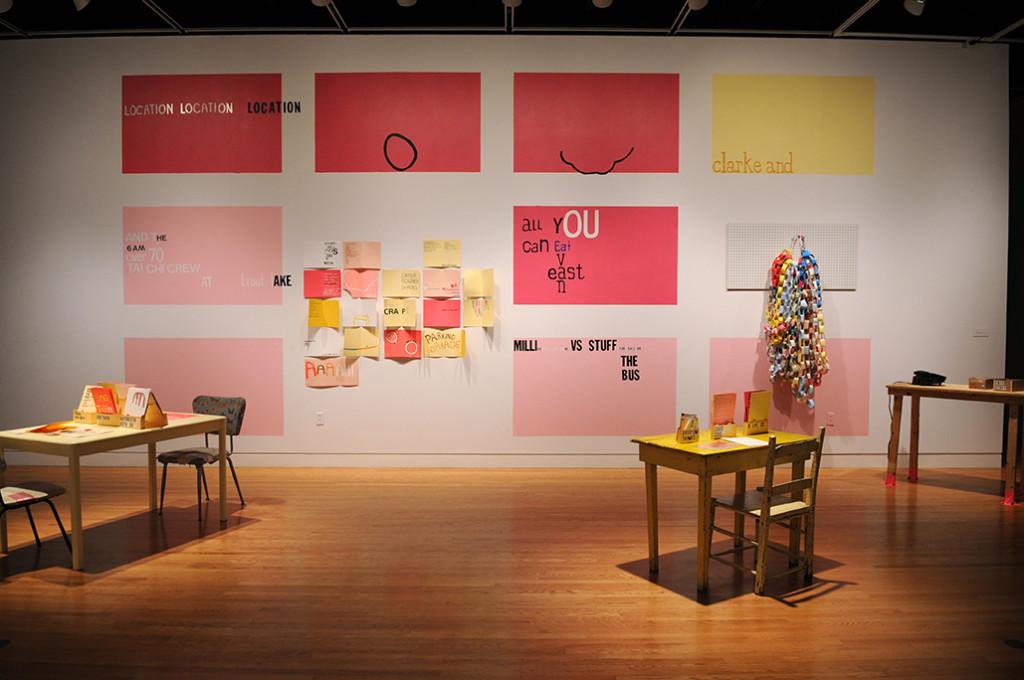 Scrap city is now serving fry bread panini's.  Installation, mixed media.  Leonard and Ellen Bina Gallery, Montreal, Quebec. 2010