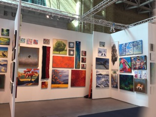 Artists Network Gallery Booth